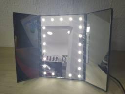 Espelho led para maquiagem