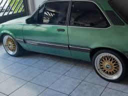 "BBS 17"" pneus meia vida 205/40"