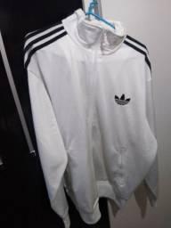 Jaqueta Adidas retrô branca super nova GG