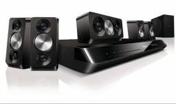 Home Theater 5.1 Philips com DVD 3D