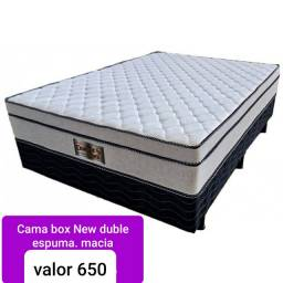Cama box conjugada New Duble macia
