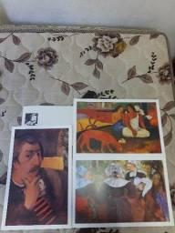 Título do anúncio: Coleção Telas Famosas de Gauguin