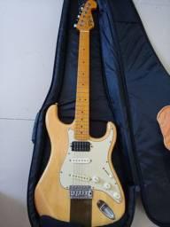 Kit Guitarra tagima, pedaleira e caixa de som