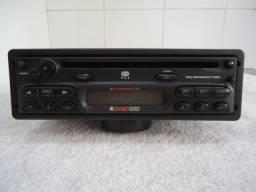 Rádio CD Original GM modelo Delphi DF1431 com Manual e cod. Acionamento