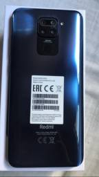 Redmi note 9 midnight Grey 3GB RAM 64GB ROM já estã com película *