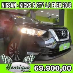 NISSAN KICKS 1.6 16V FLEX S 4P XTRONIC (PCD)