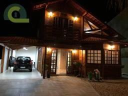Sobrado com 4 dormitórios para alugar, 120 m² por R$ 1.000,00/dia - Armação - Penha/SC