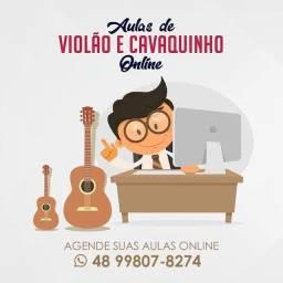 Aulas de Música Cavaquinho Cavaco Violão Banjo Guitarra Ukulele