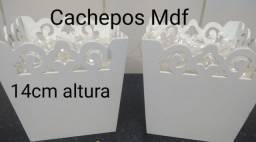 2 Cachepos / Vasinhos / Piruliteiros em MDF