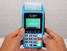 Maquininha de cartão crédito .