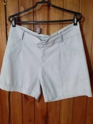 213 - Short jeans branco - Tam G