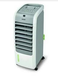 Climatizador Consul com Ar quente e Frio, Umidificador de Ar e controle.