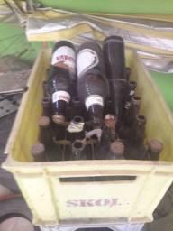 4 engradados de cerveja completo