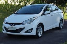 Hyundai hb20s premium(bluemedia e couro) 1.6 16v at