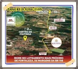 Lotes em Itaitinga- Investimento e lazer proximo de fortaleza!<!