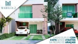 50/ Casas Duplex Araçagi!