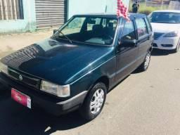 Fiat Uno Mille 1.0 4ptas gasolina c kit gás 2002 - Básico, Oportunidade!