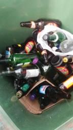 Doação garrafas e litros