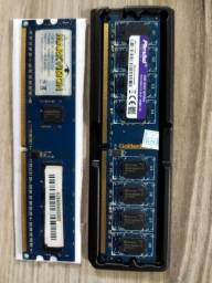 Memória RAM DDR2 2GB e 1 GB