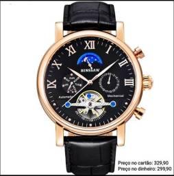 Relógio Masculino Automático Original Bissaw Cronógrafo