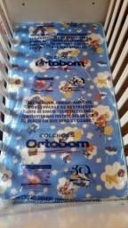 Título do anúncio: Berço Multifuncional 3 em 1 Carolina Baby + colchão Ortobom