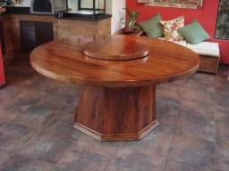 Título do anúncio: Fabricação de mesa redonda de Madeira demolição