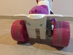 Motoca para meninas, motorizada.