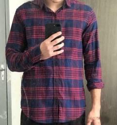 Camisa de botão vide bula original M