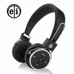 Fone Ouvido Sem Fio Bluetooth Celular Micro Sd Fm P2 B-05