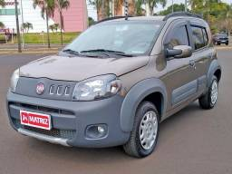 Título do anúncio: FIAT UNO 2011/2012 1.0 EVO WAY 8V FLEX 4P MANUAL