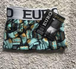 Cueca boxer EURO MICROFIBRA