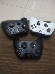 Controle Xbox One S ou Fat / Bateria original + cabo 2Metros