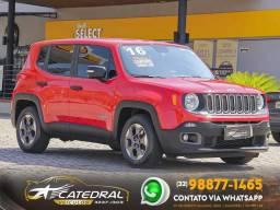 Título do anúncio: Jeep Renegade Sport 1.8 4x2 Flex 16V Aut. 2016 *Novo D+* Aceito Troca
