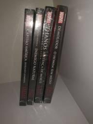Coleção Livros Marvel