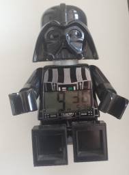Título do anúncio: Relógio Lego Star Wars Darth Vader Mini-figure Alarm Clock