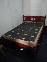 vendo cama com colchão