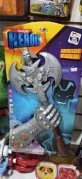 Kit cavaleiro dragão com luva - pica pau