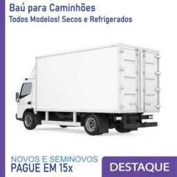 Título do anúncio: Baú Refrigerado e Baú Seco para Caminhão Modelo: AB 1440