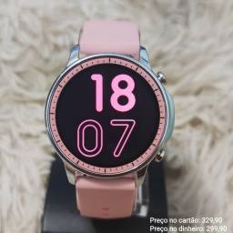 Relógio Feminino Digital Inteligente Smartwatch Original V23 Topíssimo