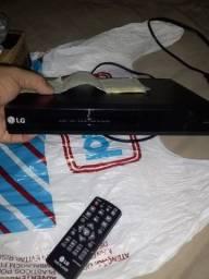 Aparelho dvd LG novo na caixa com nota fiscal