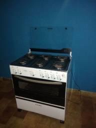 Vendo fogão elétrico Esmaltec 6 bocas usado