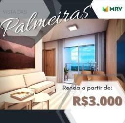 Título do anúncio: Apartamento Vista das Palmeiras, No Planalto entrada Facilitada em até 36x