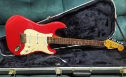 SÓ HOJE - Guitarra Fender 1996 Squier Stratocaster Limited Edition + Hard Case