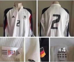 Seleção Alemanha manga longa de jogo  GG 76x62