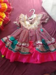 Vestido para festa junina