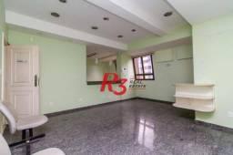 Andar Corporativo à venda, 177 m² - Gonzaga - Santos/SP