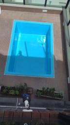 Pintura piscina de fibra