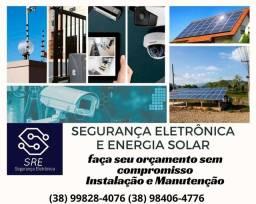 Segurança Eletrônica e Energia Solar