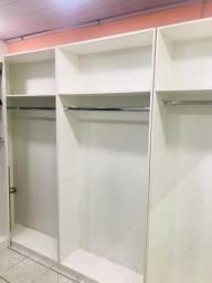 Armário de exposição de roupa para loja