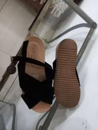 Sandália beira rio conforto usado 1 vez número 34 $ 50